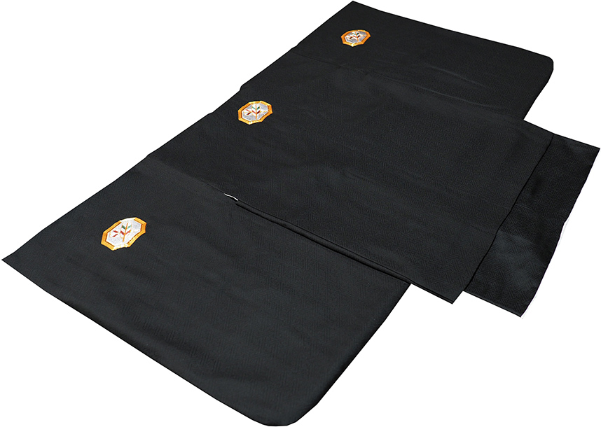 七五三 着物 男の子 5歳 正絹 フルセット 新品 刺繍紋付75d7001