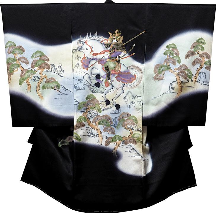 お宮参り着物 男児祝着 正絹のしめ 初着 産着 新品d7808