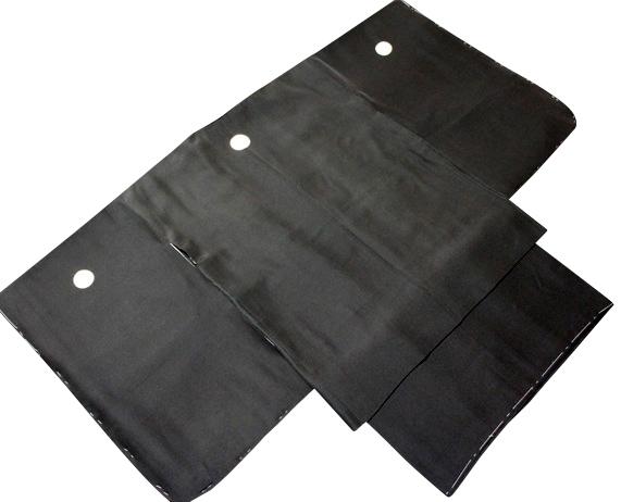 七五三着物 男児 3歳用セット 正絹 黒紋付 新品73d3835