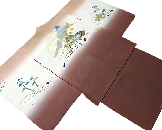 七五三着物 男児五歳用セット 正絹 新品75d9708
