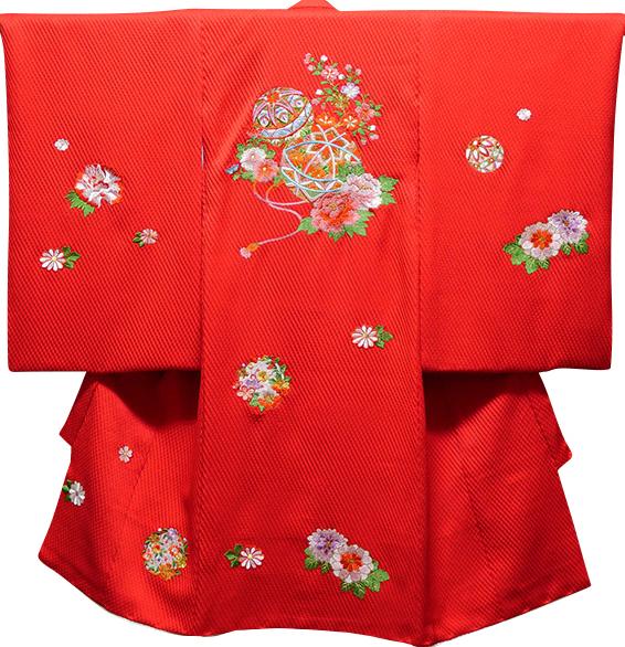 お宮参り 女の子 着物 祝着 正絹 のしめ 初着 産着 新品j3046