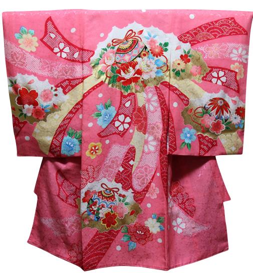 お宮参り着物 女児祝着 正絹 のしめ 初着 産着 新品j3032