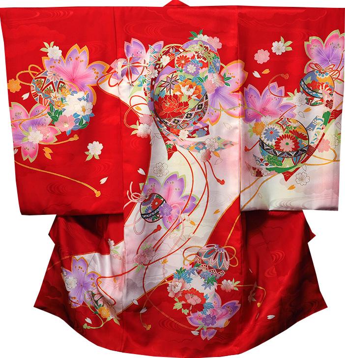 お宮参り 女の子 着物 祝着 正絹 のしめ 初着 産着 新品j1205