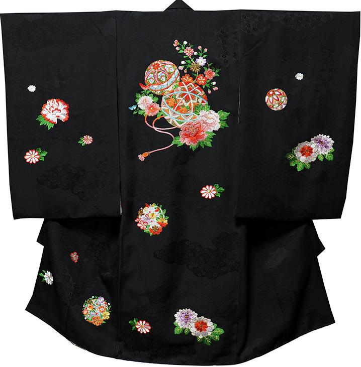 お宮参り 女の子 着物 女児祝着 正絹 のしめ 初着 産着 新品j3041