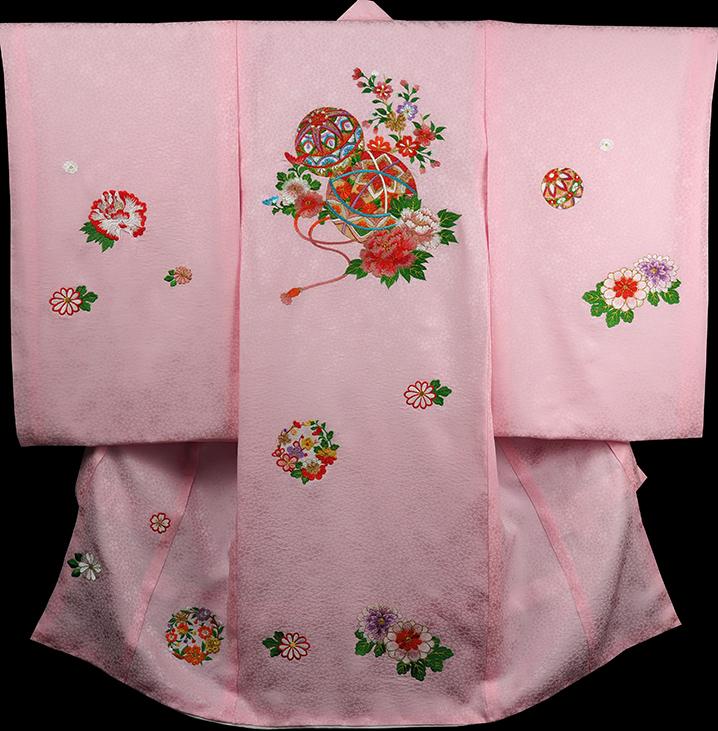 お宮参り 着物 女 女児祝着 正絹 のしめ 初着 産着 新品j3904