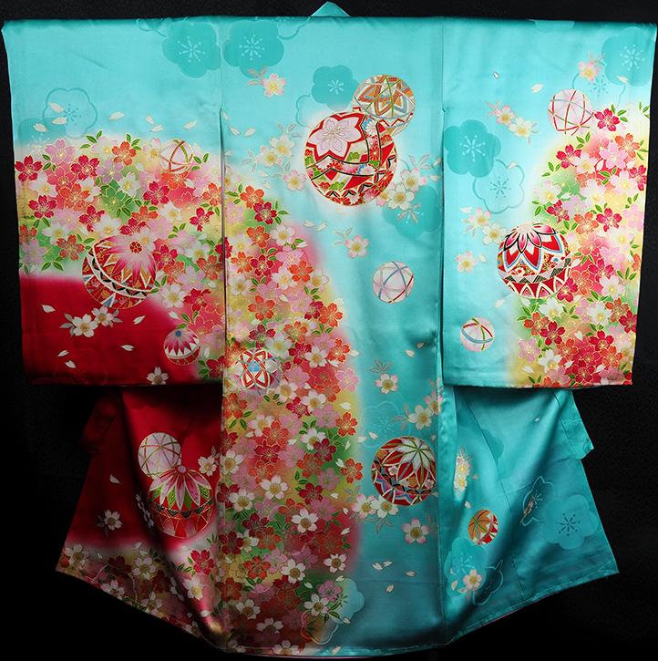 お宮参り着物 女児祝着 正絹 のしめ 初着 産着 新品j5502