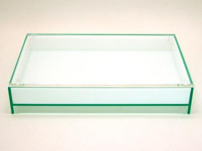 【花氷/ガラスエッジ×オパール】アクリル・花台・水盤