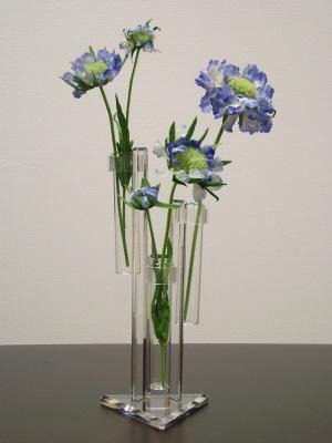 Akuriru S Ruth Acrylic Amp Glass Tube Flower Vase Flower Vase