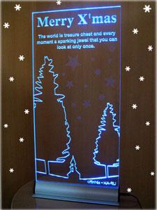 【送料無料】LEDクリスマスボードウェルカムボードにも♪