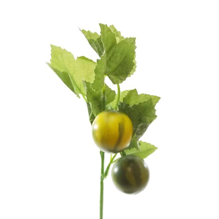 春夏秋冬季節の造花を単品販売 ディスプレイ アレンジや花束の材料に 造花 夏 注文後の変更キャンセル返品 おすすめ 実物 990024 ミニスイカピック
