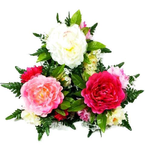 春夏秋冬季節の造花を単品販売 ディスプレイ 卓出 買収 アレンジや花束の材料に 造花 春 ぼたん アレンジ FRO-1720 テーブルフラワーボタン 牡丹