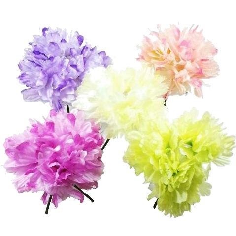 ディスプレイ アレンジや花束の材料に 造花 売り出し 春 100%品質保証! ピオニーバンドル 牡丹 ボタン VD-6654 シルクフラワー