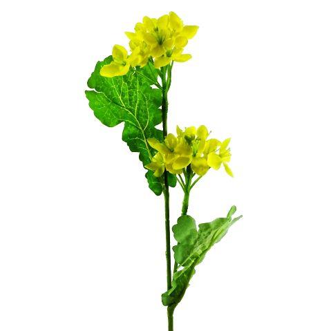 春夏秋冬季節の造花を単品販売 ディスプレイ アレンジや花束の材料に 造花 春 高い素材 ◆高品質 ナノハナ×2 FS-5331 FS-5187 菜の花 なのはな 990188