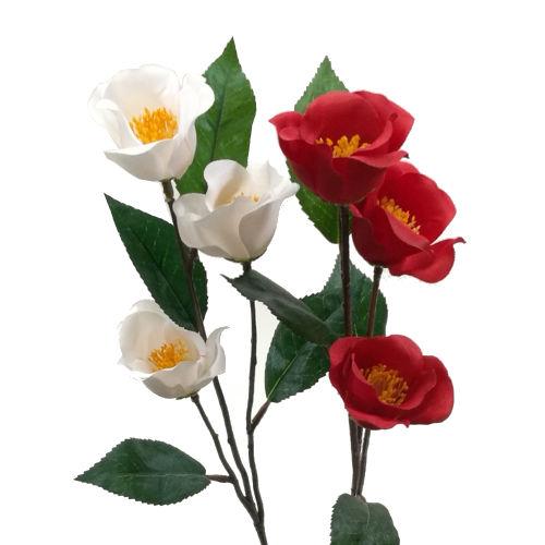 ディスプレイ アレンジや花束の材料に 造花 冬 春 正月 ツバキスプレー お気に入り つばき FL3035 アレンジ FS-7137 椿 FS-5233 信憑 990183 素材