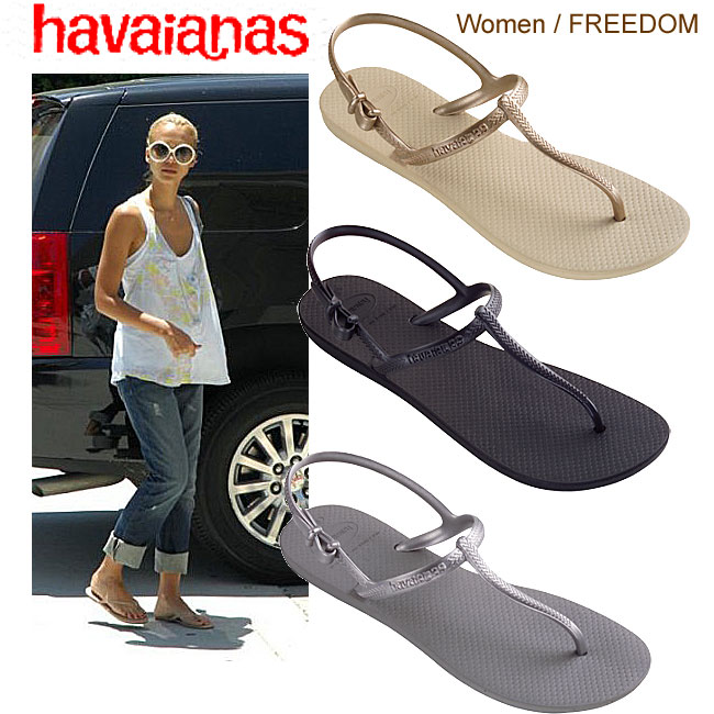c602f8cd16e6d Havaianas-Havaianas FREEDOM  s new  スリムラバー back strap Beach Sandals reviews  listed by special price 05P01Sep13
