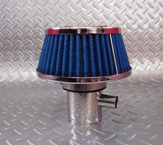 ジムニーJA系パワーエアクリーナー、リターン型(青)送料無料