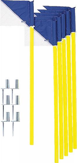 送料無料 molten モルテン コーナーフラッグDX6本セット 旗 CFDXB