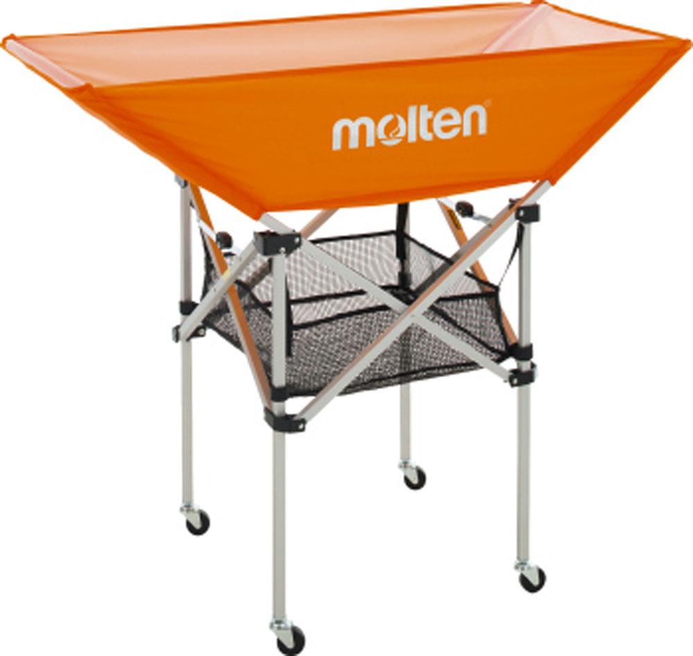 モルテン(Molten) 折りたたみ式平型ボールカゴ背高 (mt-bk0033o-) 器具 備品 学校機器
