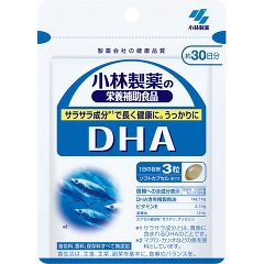 最近 お魚食べてますか? 11000円以上で送料無料 今ダケ送料無料 お得クーポン発行中 小林製薬 DHA 栄養補助食品 90粒