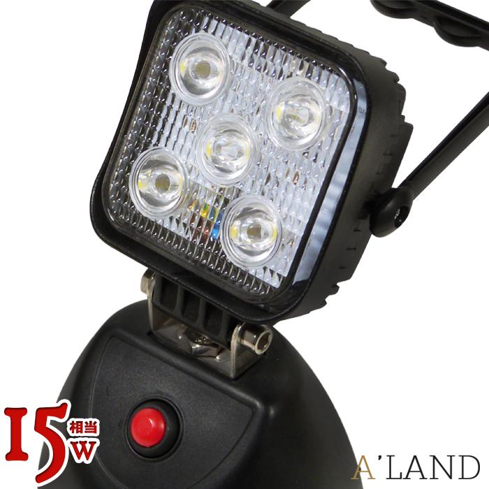 LEDサーチライト スポットライト 60w 5500LM 12v 24v スポットライト LED 作業灯 ワークライト 仕事場 作業場 工事現場 ライトアップ 照明 CREE LEDチップ