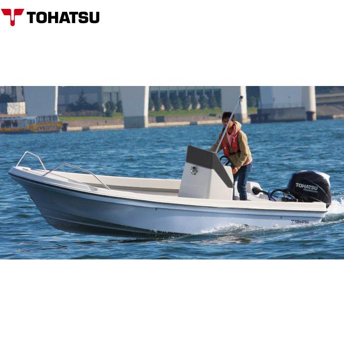 TOHATSU トーハツ 船体 プレジャーボート 17ft(フィート) 30馬力 船外機付き TFWシリーズ 最大搭載人数 5人 新2級以上