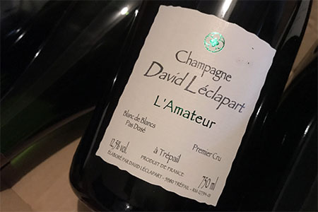 ダヴィッド・レクラパール David Leclapart Cuvee ラマトゥール L'Amateur(NV13)