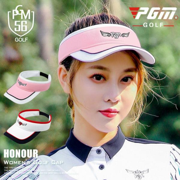 アウトレット ゴルフレディースサンバイザー ゴルフサンバイザー レディース サンバイザー ゴルフグッズ ゴルフ用品 今だけ限定15%OFFクーポン発行中 可愛い ネイビー ピンク ホワイト 白