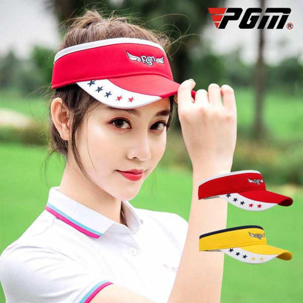 ゴルフレディースサンバイザー チープ ゴルフサンバイザー レディース 送料無料カード決済可能 サンバイザー ゴルフグッズ ゴルフ用品 赤 イエロー 黄色 レッド 可愛い
