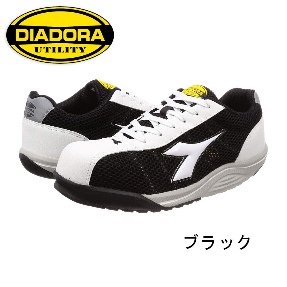 軽量 建設 塗装 左官 今季も再入荷 土木 工業 土方 建築 トラック ディアドラ セーフティーシューズ 並行輸入品 ドライバー WF112 作業靴 仕事靴 DIADORA 安全靴