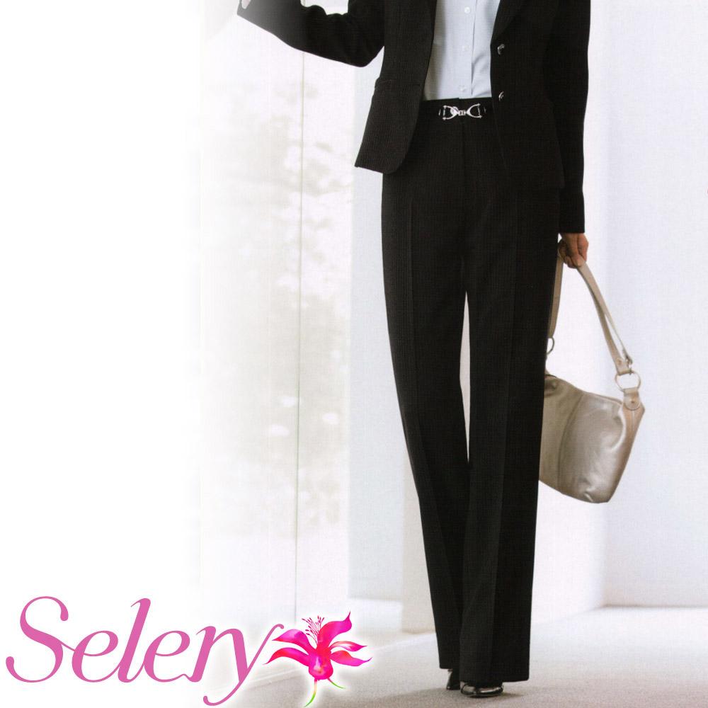 制服 ユニフォーム 販売実績No.1 大きいサイズ 女子服 会社服 セロリー 事務服 Selery ボトム 当店一番人気 パンツ S50300