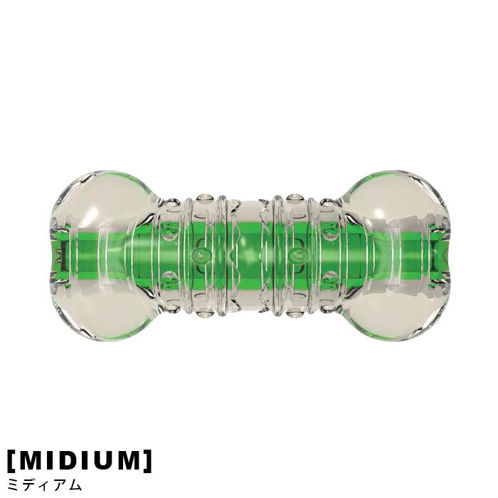 ポイント10倍 安値 ペット おもちゃ バリバリ音が長く楽しめる新感覚トイ クランチコア 贈呈 ミディアム BONE