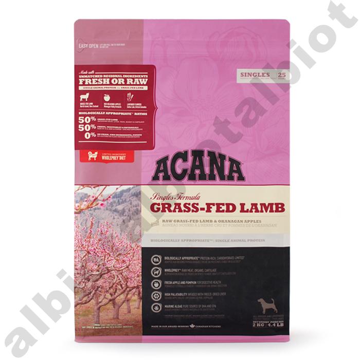 (取り寄せ品) アカナ 犬用 グラスフェッドラム 6kg 送料無料 正規輸入品