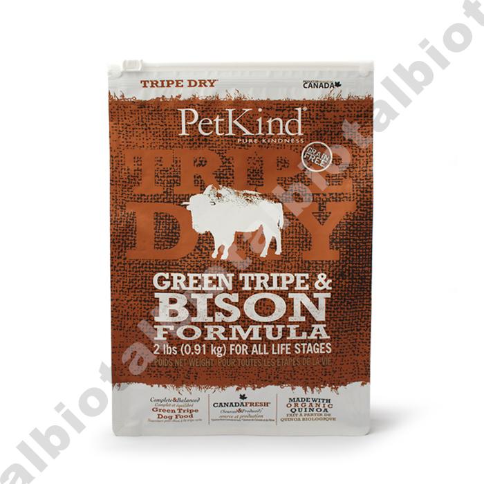 (ポイント5倍)ドッグフード アレルギー 無添加  (取り寄せ品) ペットカインド グリーントライプ&バイソン 6.35kg