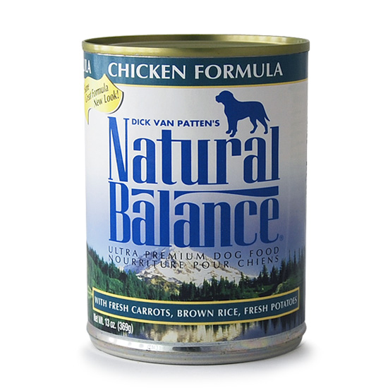 ナチュラルバランス チキン&ブラウンライス 369g×24缶