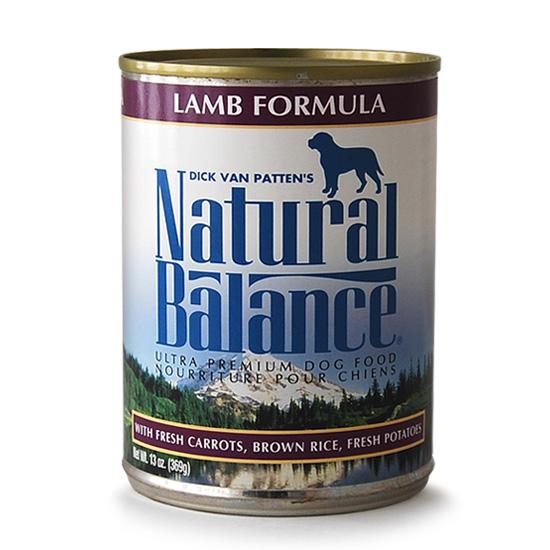 ナチュラルバランス ラム&ブラウンライス 369g×24缶
