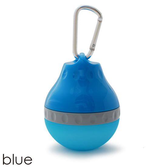 ポイント10倍 お散歩に便利な携帯用ドリンクボトルハンディウォータラー 新着セール 宅送 ブルー