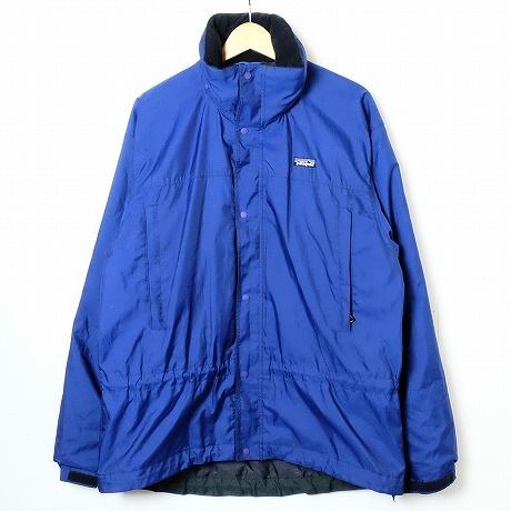 【中古】Patagonia【パタゴニア】海外買い付け・直輸入ナイロンマウンテンジャケットNYLON MOUNTAIN JACKETブルー