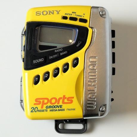 【中古】SONY SPORTS【ソニースポーツ】海外買い付け・直輸入CASSETTE WALKMANカセットウォークマンFS-497
