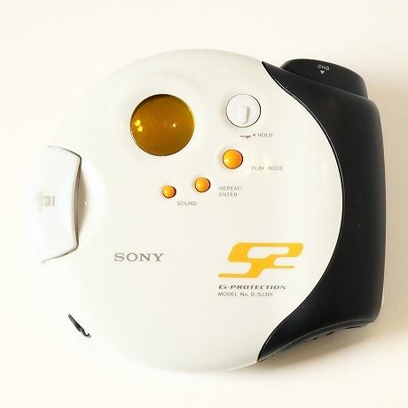【中古】SONY SPORTS【ソニースポーツ】海外買い付け・直輸入DISCMAN・ディスクマンCDウォークマングレーxブラック DSJ-301