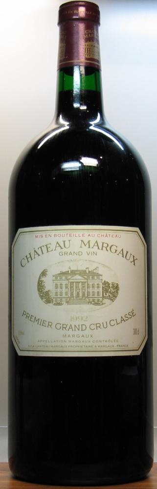 1992シャトウ マルゴー 3000mlChateau Margaux