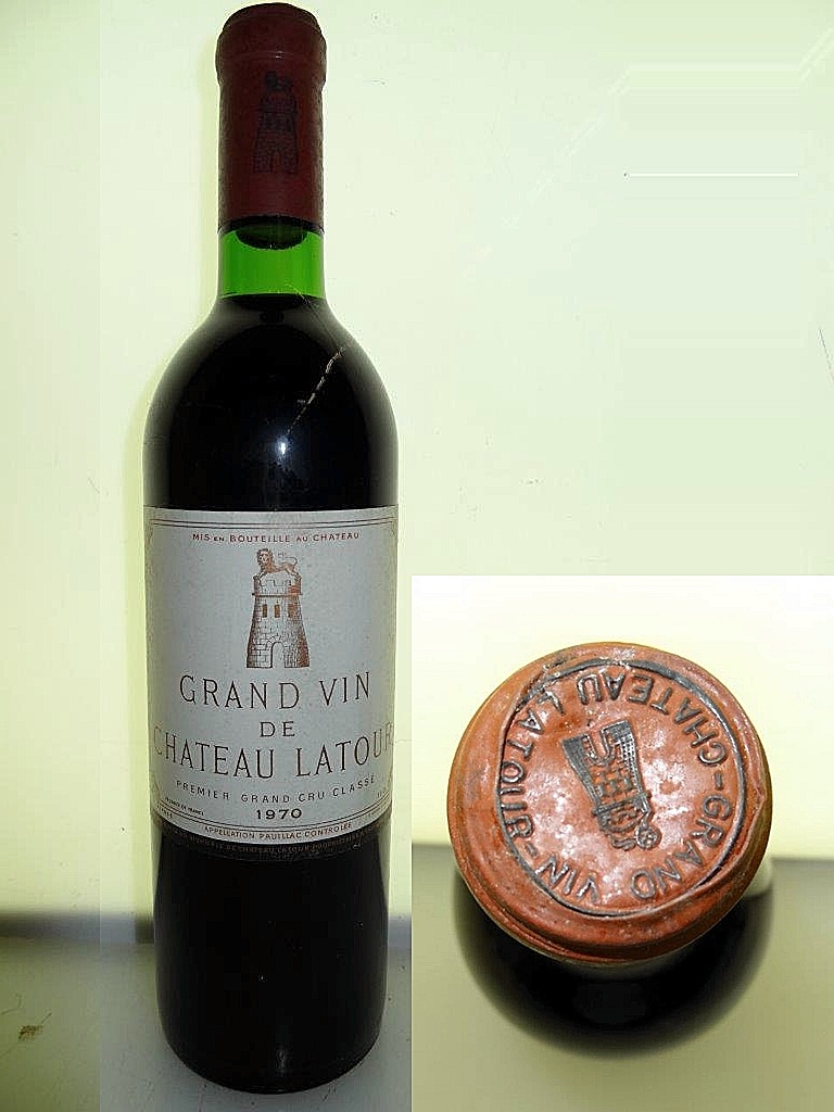 1970ラトゥール Chateau Latourご注文現品です