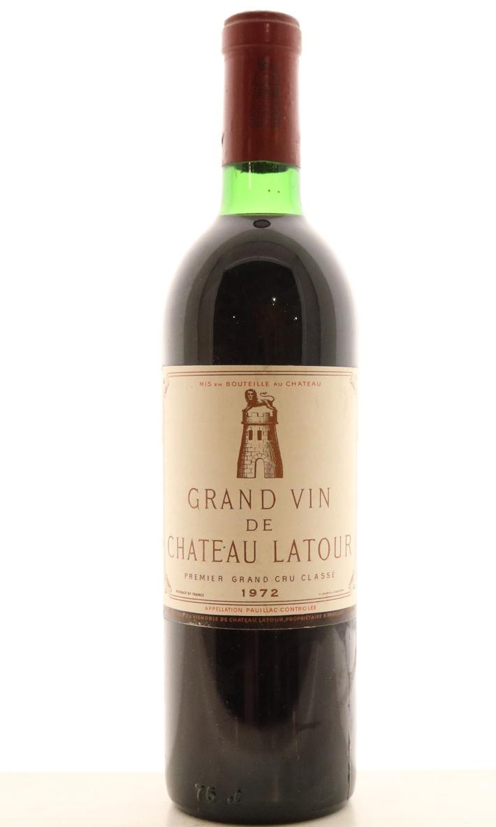 1972ラトゥールChateau Latour