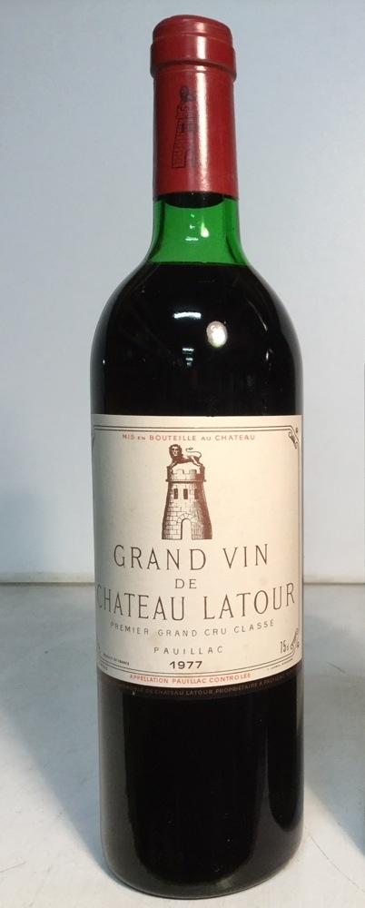 1977ラトゥールChateau Latour