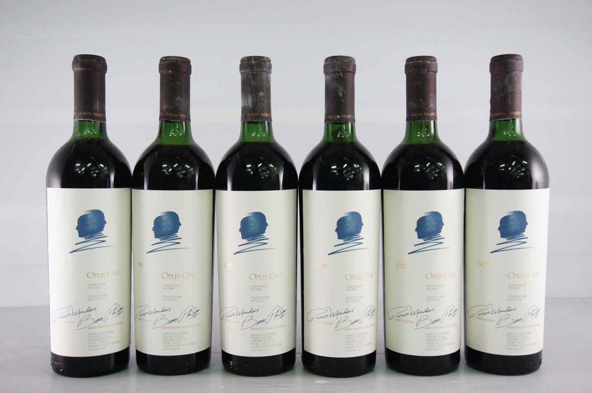 1987 オーパスワンMondavi Robert / Rothschild