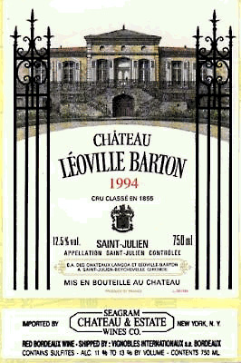 1996 レオヴィルバルトン{St-Julien}