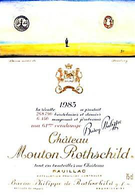 1983 シャトウムートンロートシルドMouton Rothschild