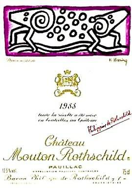 1988 シャトウムートンロートシルドMouton Rothschild
