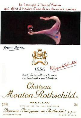 1990 シャトウムートンロートシルドMouton Rothschild