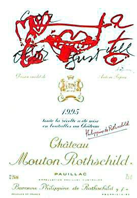 1995 シャトウムートンロートシルドMouton Rothschild