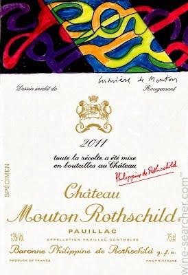 2011 シャトウムートンロートシルドMouton Rothschild